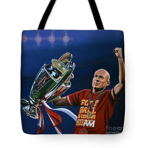 Arjen Robben Tote Bag