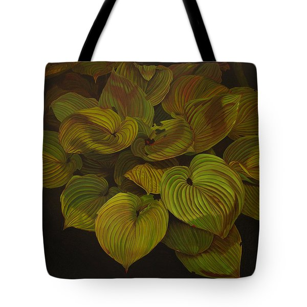 Arkansas Green Tote Bag by Thu Nguyen