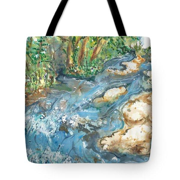 Arkansas Stream Tote Bag
