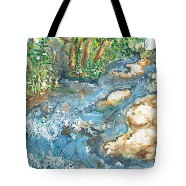 Arkansas Stream Tote Bag