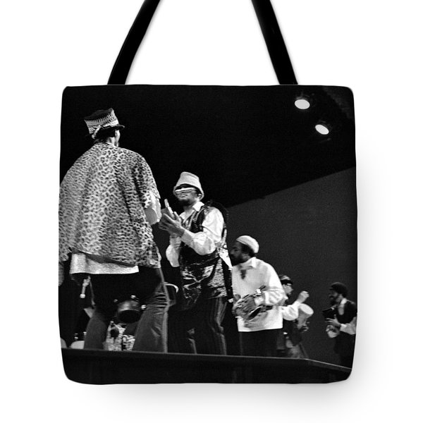 Arkestra Procession 1968 Tote Bag by Lee  Santa