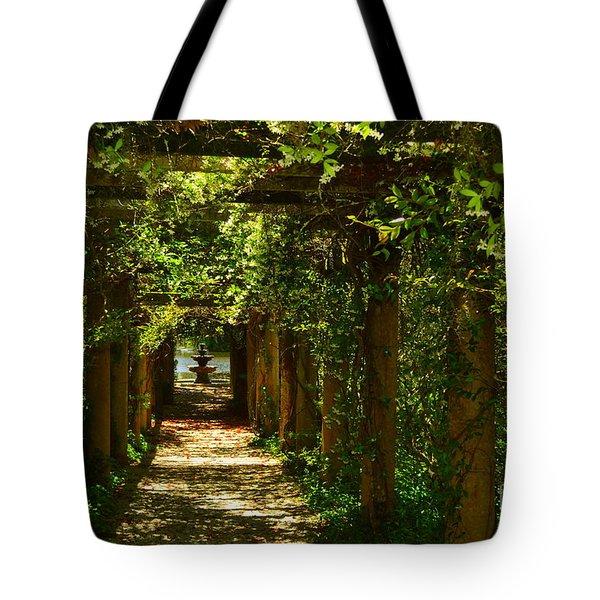 Arlie Italian Pergola Garden Tote Bag