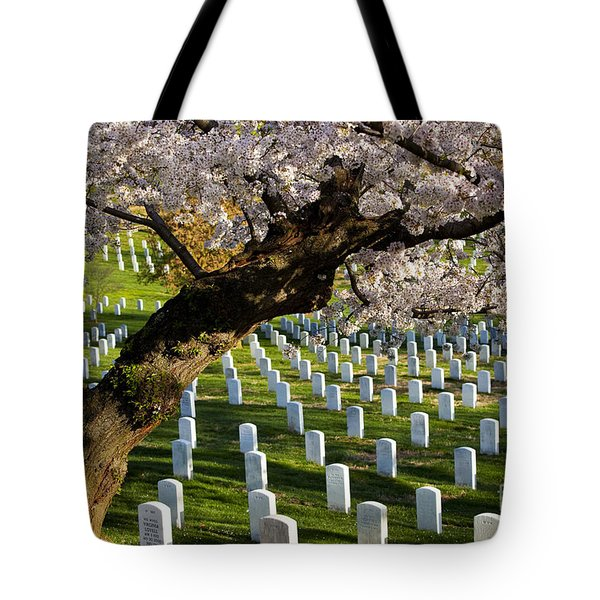 Tote Bag featuring the photograph Arlington National Cemetary by Brian Jannsen