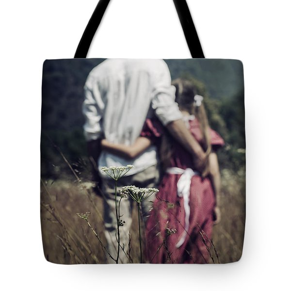 Arm In Arm Tote Bag by Joana Kruse