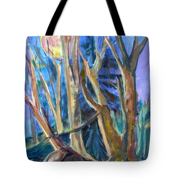 Armageddon Or Twilight Coming Tote Bag