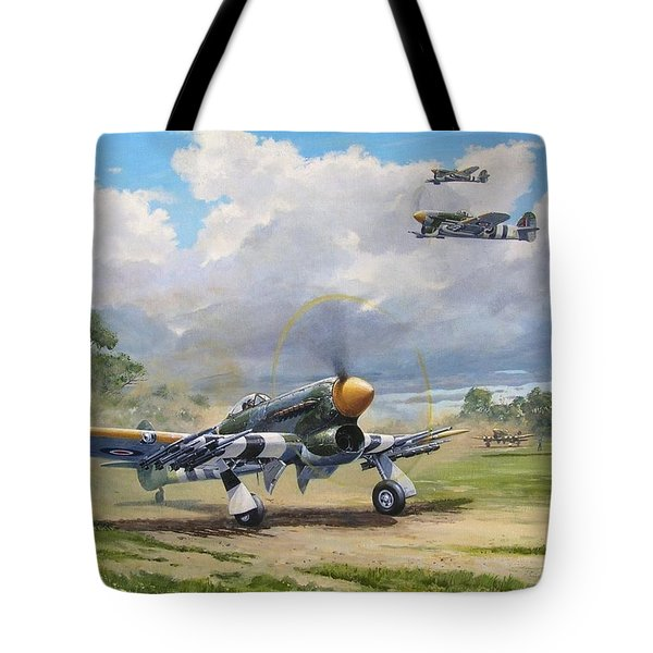 'armed And Dangerous - Typhoon' Tote Bag