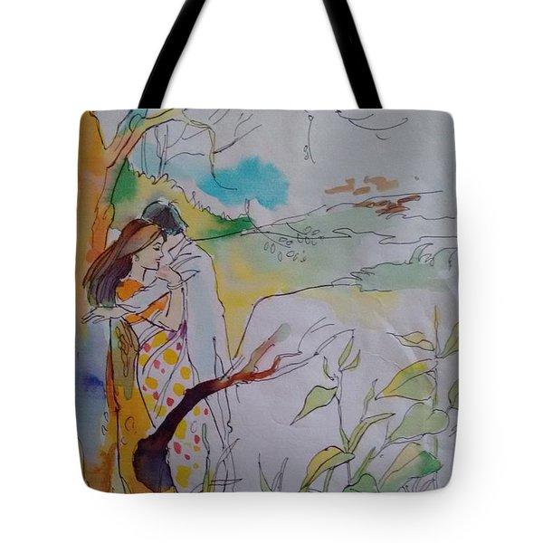 Arms Tote Bag by Chintaman Rudra