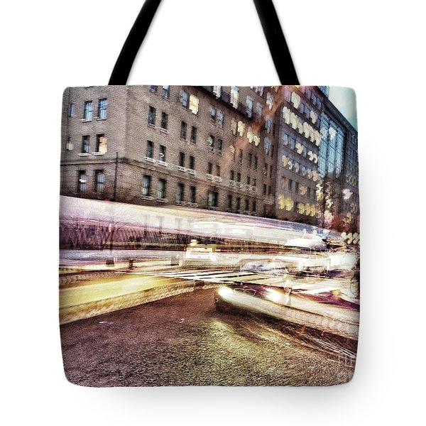 Army And Navy Rush Hour Tote Bag by Jim Moore