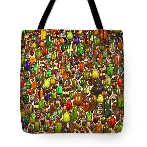 Tote Bag featuring the photograph Army Of Beetles And Bugs by Brooke T Ryan