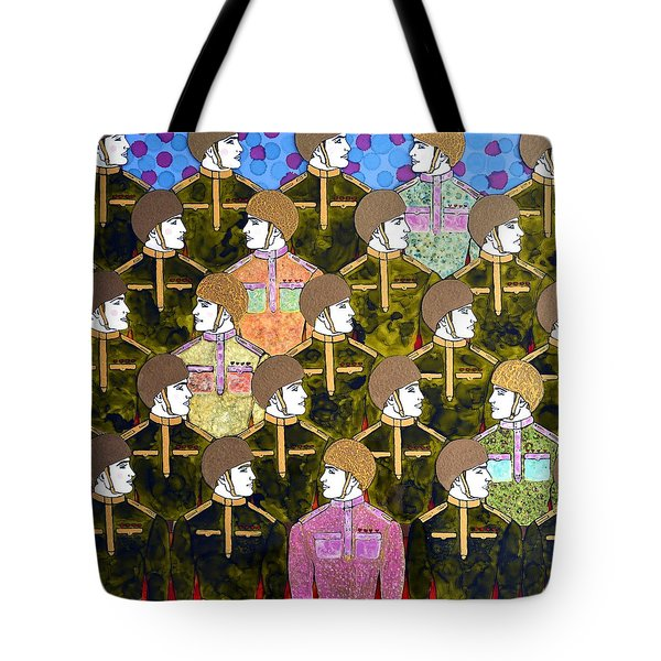 Army Of Love Tote Bag