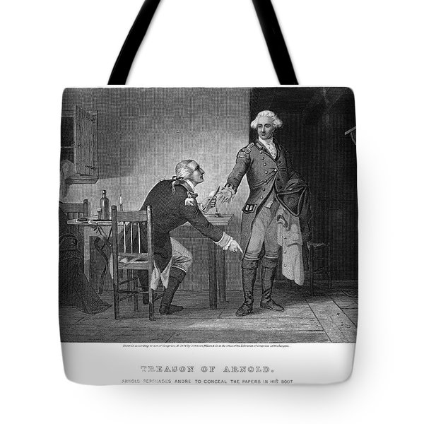 Arnold & Andre, 1780 Tote Bag by Granger