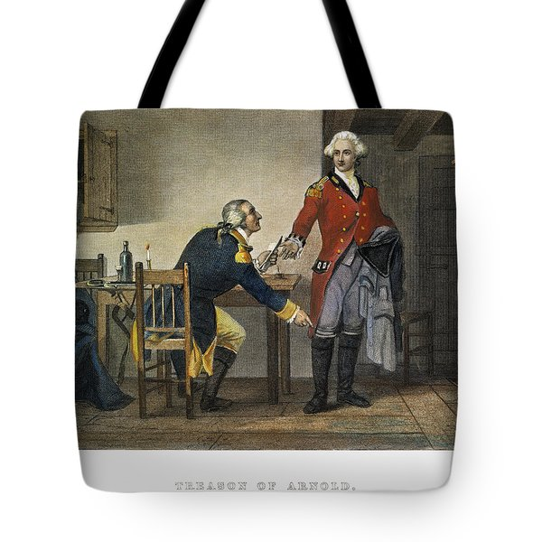 Arnold And Andre, 1780 Tote Bag by Granger