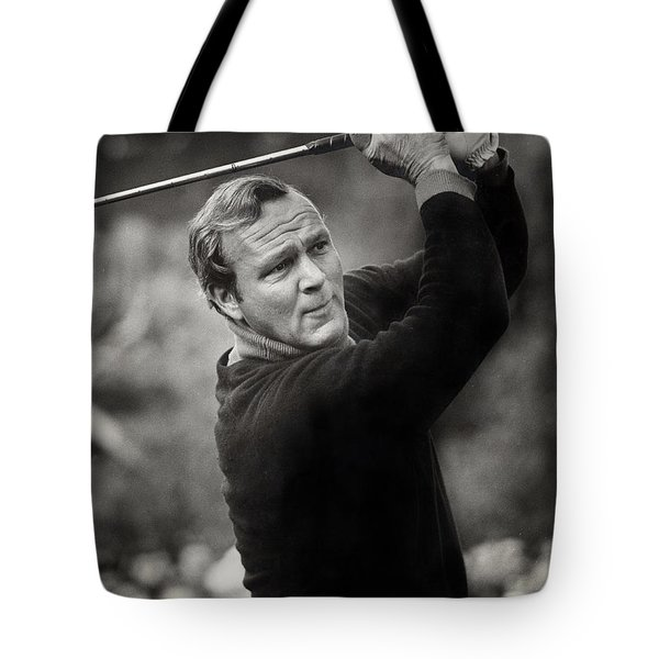 Arnold Palmer Pro-am Golf Photo Pebble Beach Monterey Calif. Circa 1960 Tote Bag
