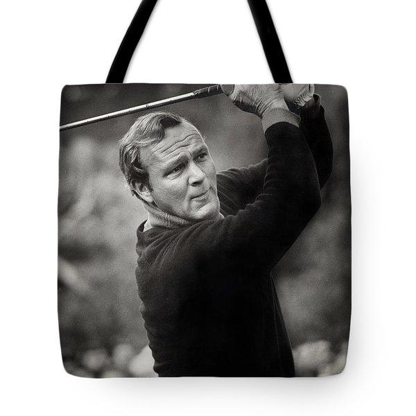 Arnold Palmer Pro-am Golf Photo Pebble Beach Monterey Calif. Circa 1960 Tote Bag