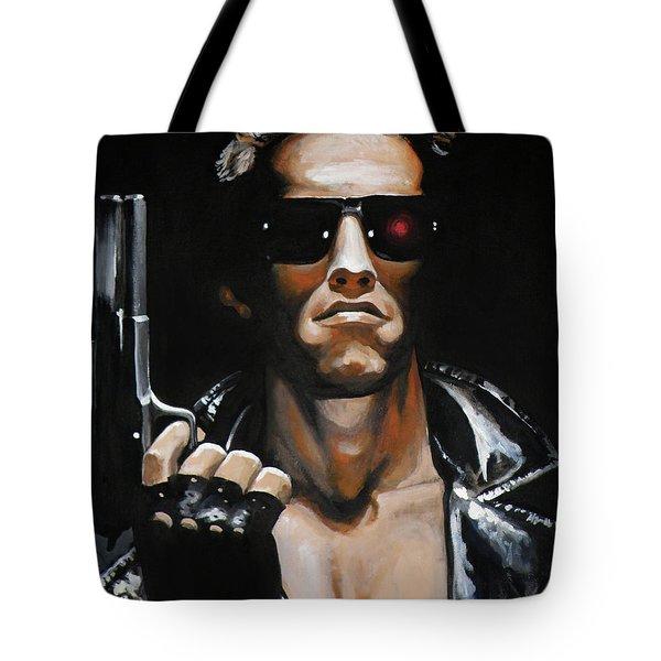 Arnold Schwarzenegger - Terminator Tote Bag
