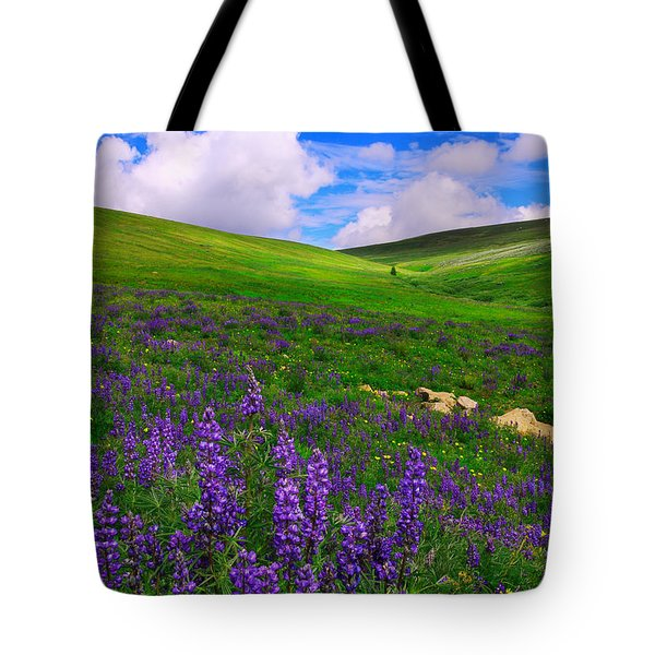 Tote Bag featuring the photograph Aroma Of Summer by Kadek Susanto
