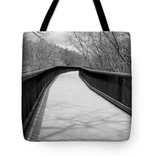 Tote Bag featuring the photograph Around The Bend by Kristen Fox