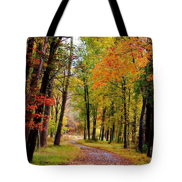 Around The Bend Tote Bag by Patti Whitten