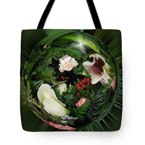 Around The Garden Tote Bag