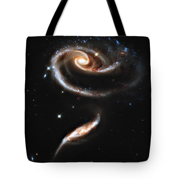 Arp 273 Rose Galaxies Tote Bag