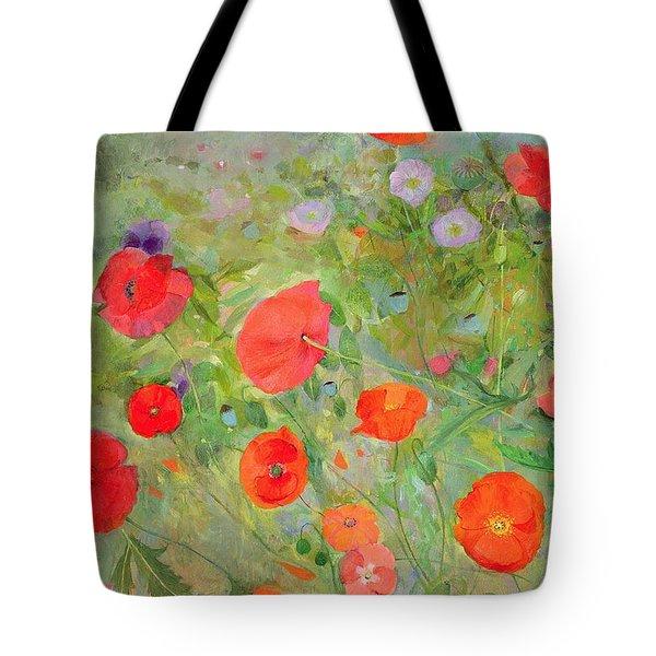 Arpeggiando Tote Bag by Ann Patrick