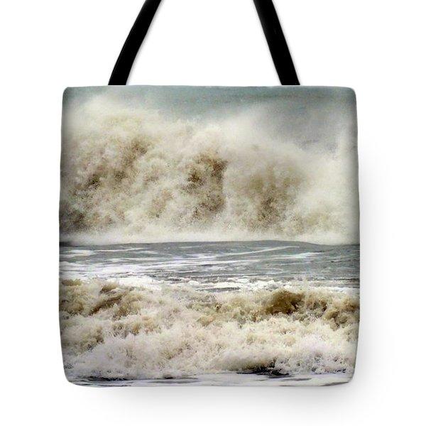 Arrival Of Sandy Tote Bag by Karen Wiles