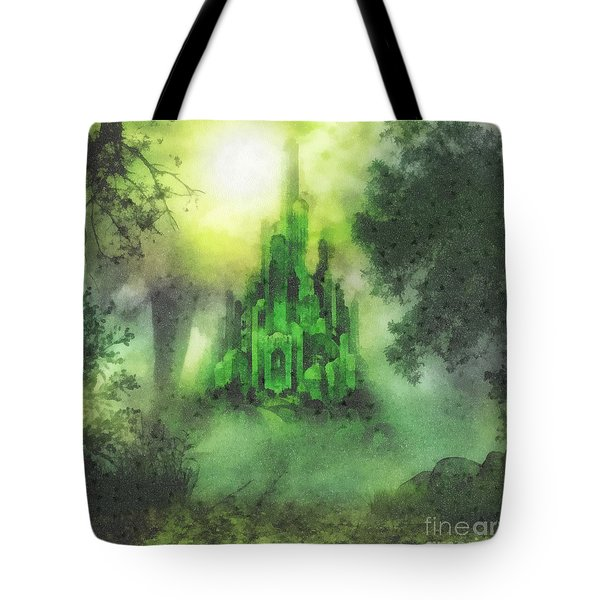 Arrival To Oz Tote Bag