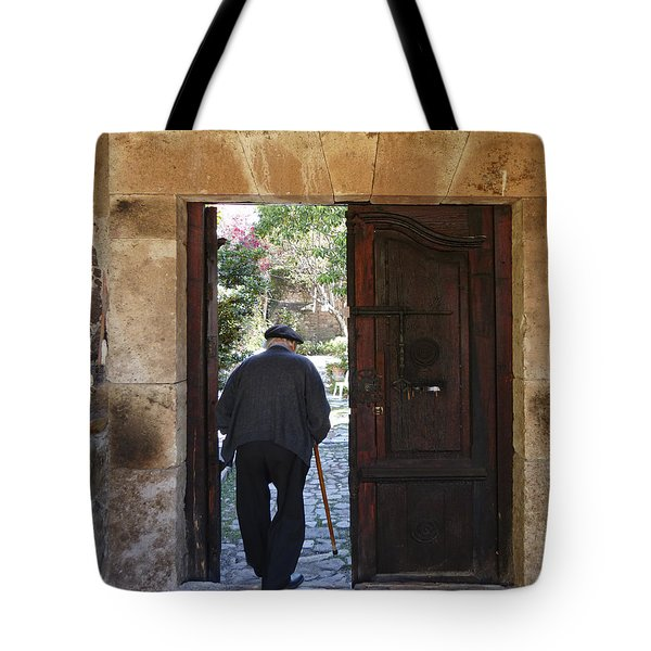 Arriving Home Tote Bag by Douglas J Fisher
