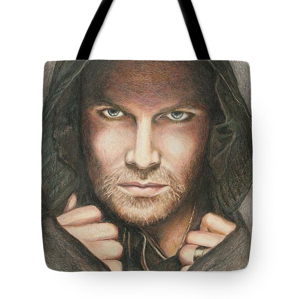Arrow / Stephen Amell Muted Tote Bag