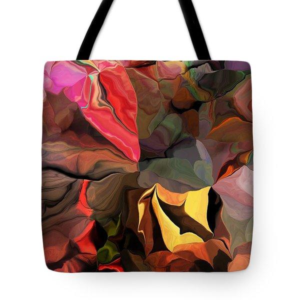Tote Bag featuring the digital art Arroyo  by David Lane