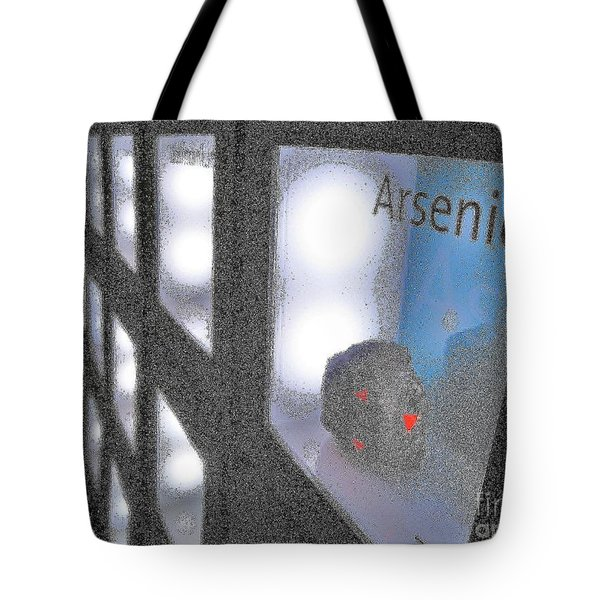 Arsenic No Lace Tote Bag