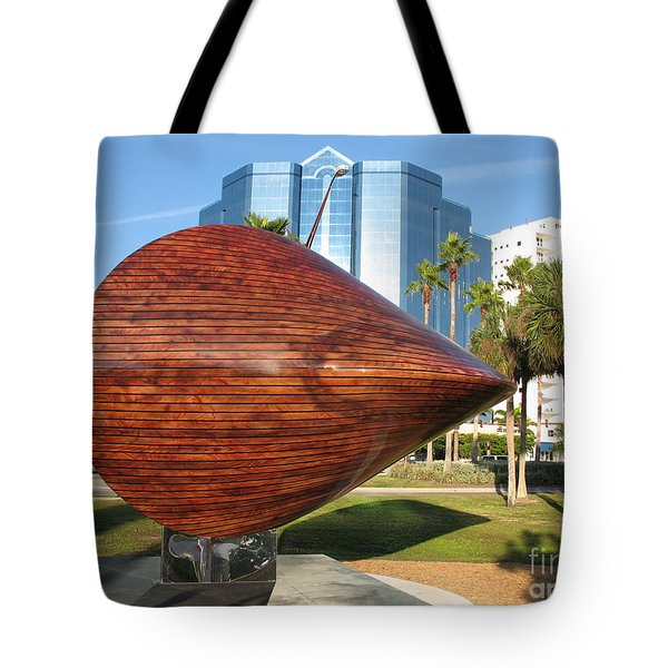 Tote Bag featuring the photograph Art 2009 At Sarasota Waterfront by Christiane Schulze Art And Photography