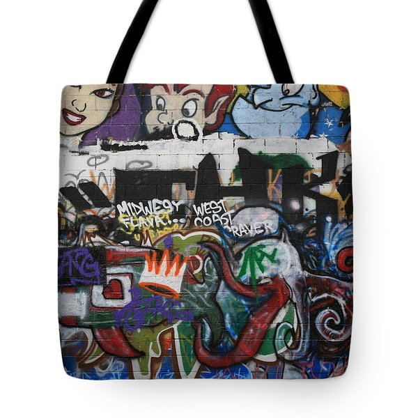 Art Alley 4 Tote Bag