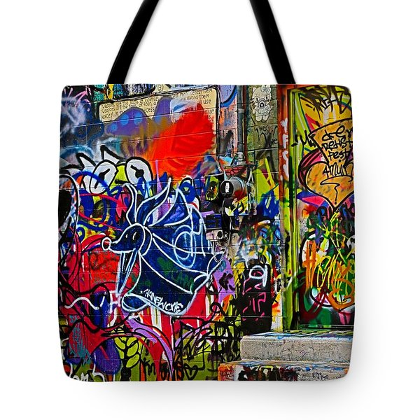 Art Alley Three Tote Bag