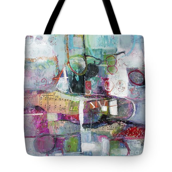 Art And Music Tote Bag