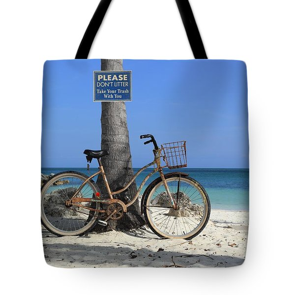 Art Bike Tote Bag