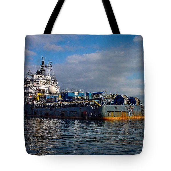 Art Carlson Tote Bag
