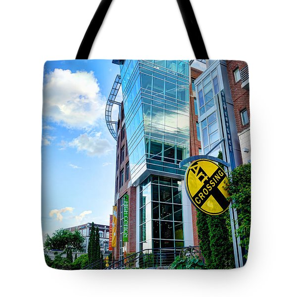 Art Crossing Tote Bag