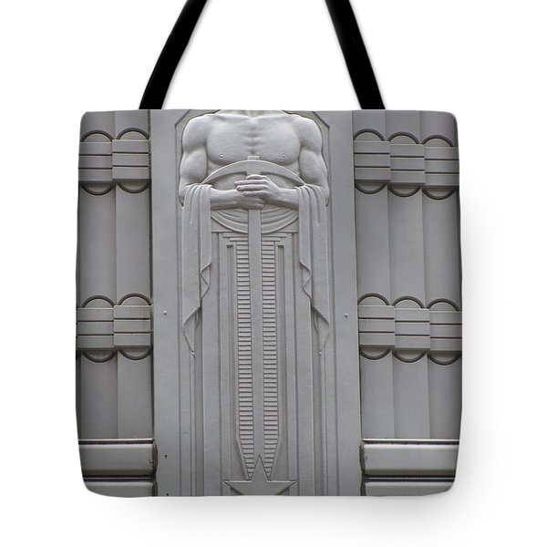 Art Deco Figure Tote Bag