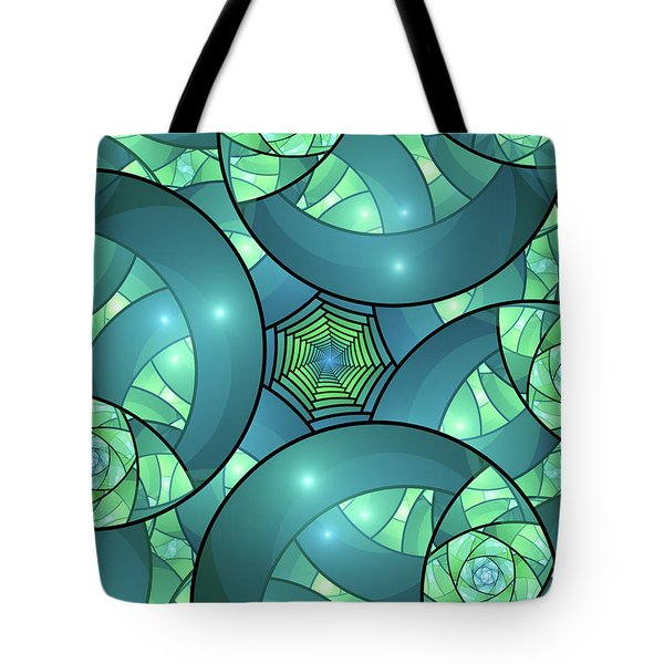 Tote Bag featuring the digital art Art Deco by Gabiw Art