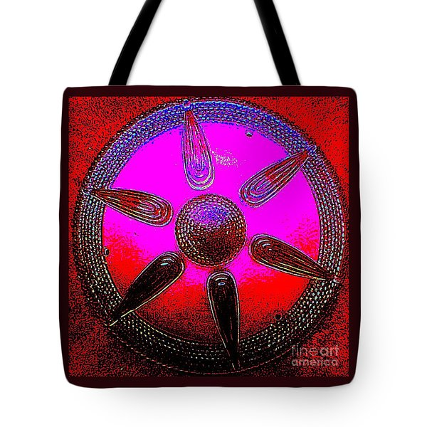 Art Deco Mandala Tote Bag by Peter Gumaer Ogden