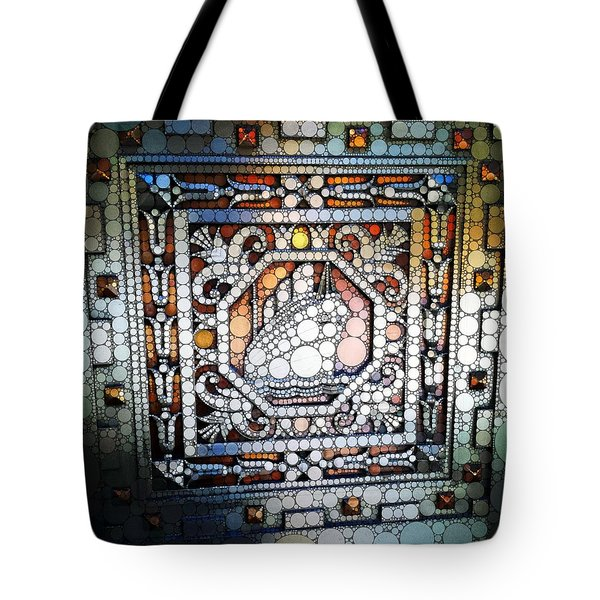 Art Deco Percolated Tote Bag by Natasha Marco