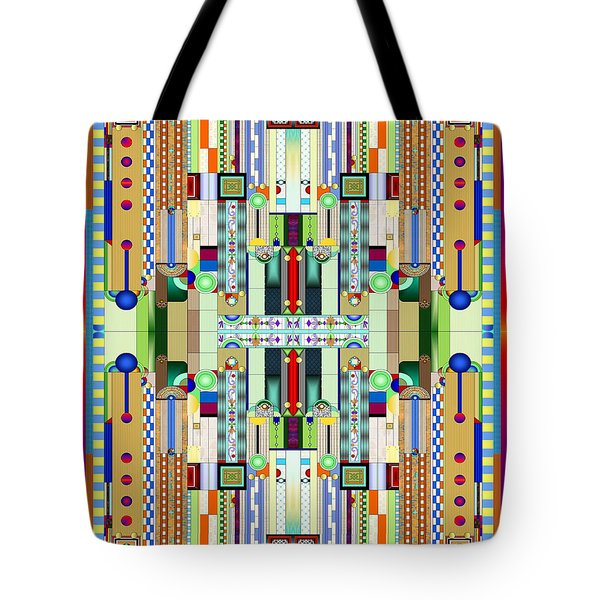Art Deco Stained Glass 2 Tote Bag