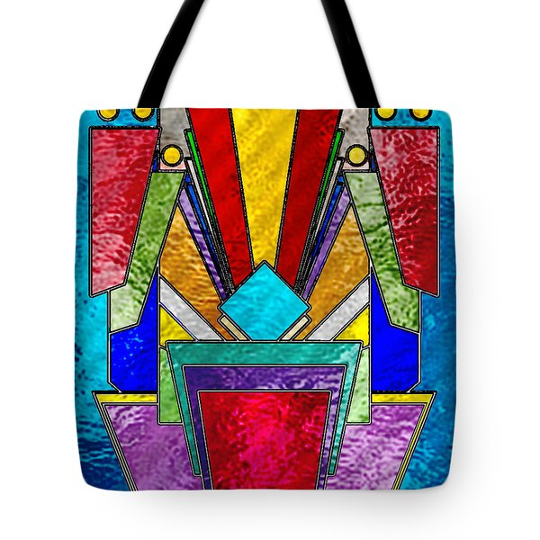 Art Deco - Stained Glass 6 Tote Bag