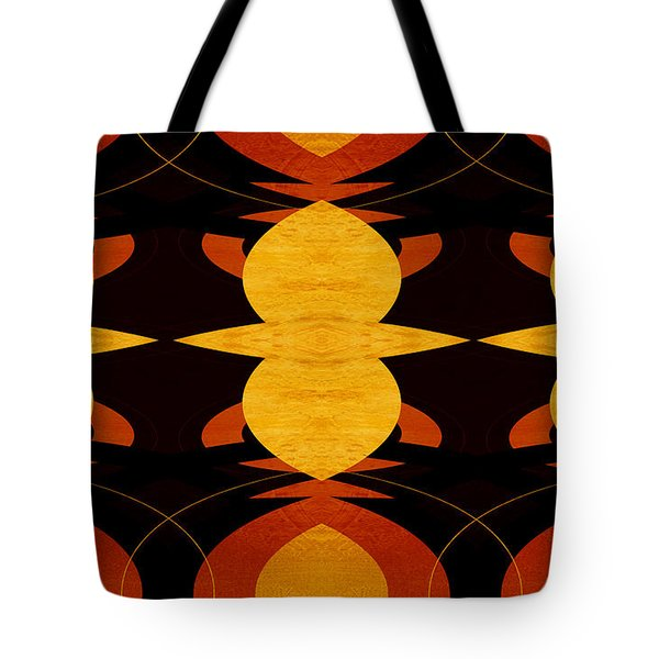 Art Deco Two - Abstract Art Tote Bag by Ann Powell