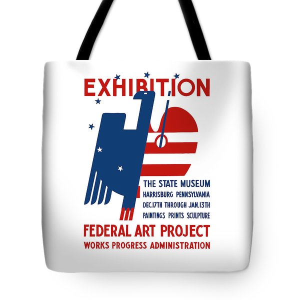 Art Exhibition The State Museum Harrisburg Pennsylvania Tote Bag by War Is Hell Store