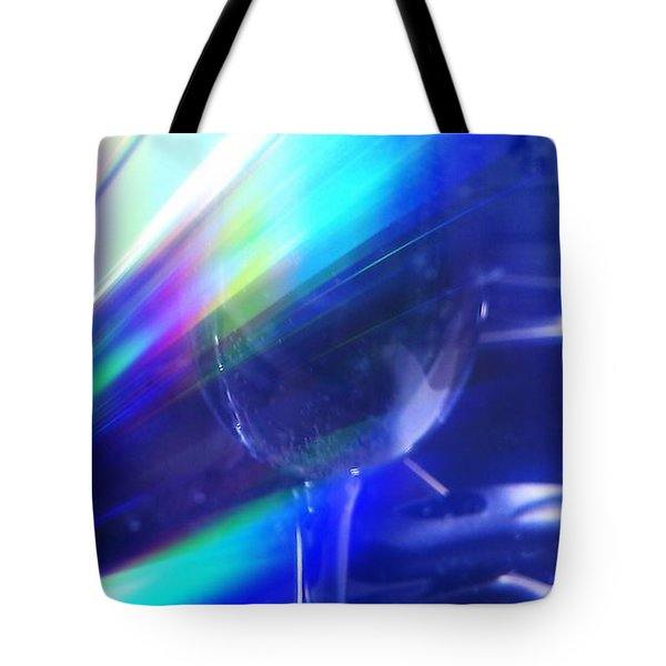 Tote Bag featuring the photograph Art Glass by Martin Howard