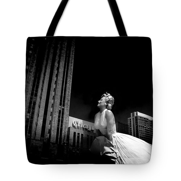 Art In Chicago Tote Bag