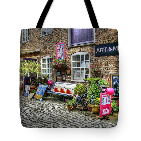 Art In The Mill Tote Bag by Doc Braham