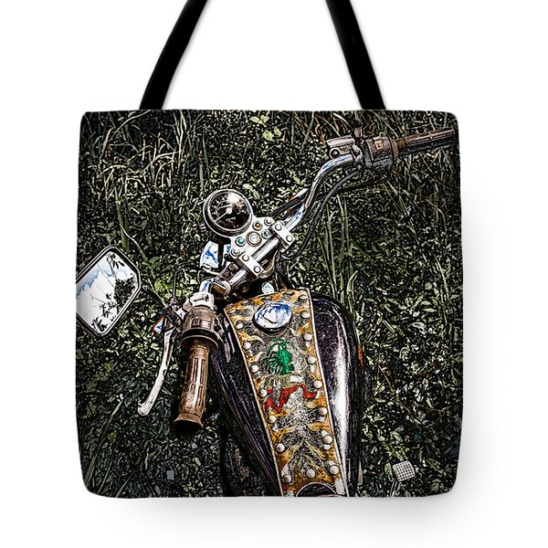 Art In The Weeds Tote Bag
